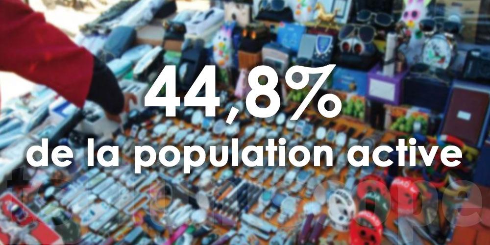 Les travailleurs de l'informel représentent près de 45% de la population active