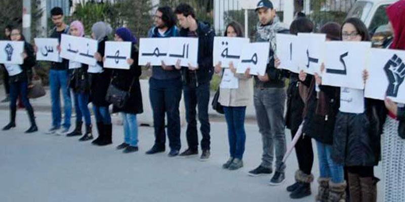 Les ingénieurs du secteur public organisent une manifestation