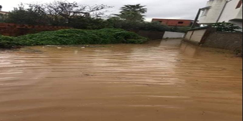 القيروان: مياه الأمطار تتسرب إلى عدد من المنازل