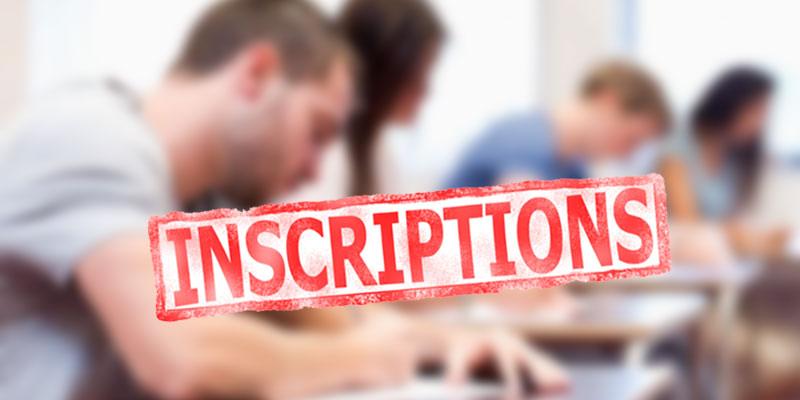 Ouverture des inscriptions le 27 août pour l'année universitaire 2018/2019