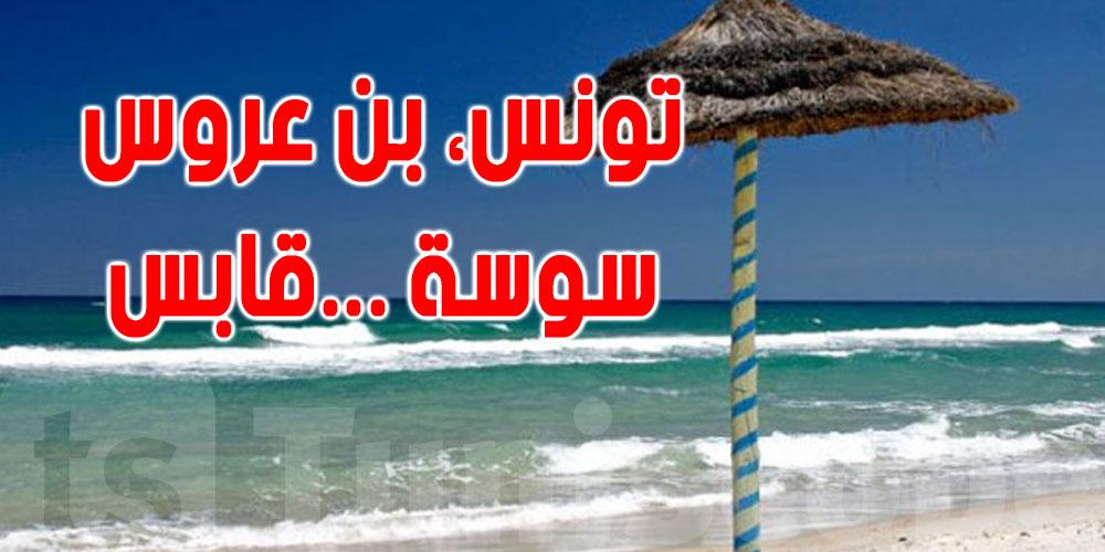 عاجل:عددها 17... قائمة الشواطئ الممنوع السباحة بها