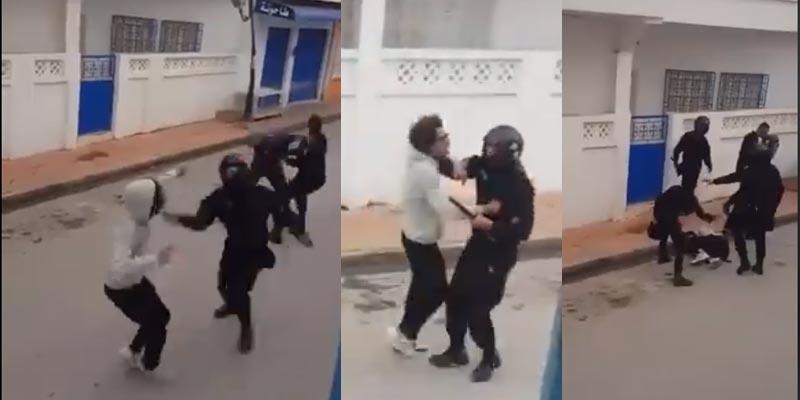على لسان أحد المتضرّرين، هذه حقيقة فيديو ضرب الأمنيين لمشجّعين برادس