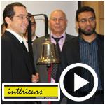 En vidéos : La cloche de la bourse sonne pour la Société Atelier de Meuble Intérieurs
