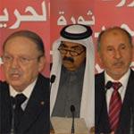Resumé des interventions de Bouteflika, Hamed, Abdeljelil et Ghalleb