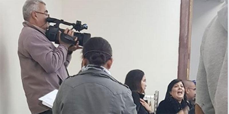 Abir Moussi s'est introduite dans la commission financière causant l'arrêt de ses travaux