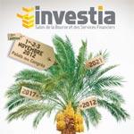 Investia : La première édition du Salon de la Bourse et des services financiers