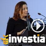 En vidéo- Investia 2014 : Ouided Bouchamaoui appelle les chefs d'entreprises à s'introduire en bourse