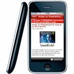 Téléchargez gratuitement notre application iPhone