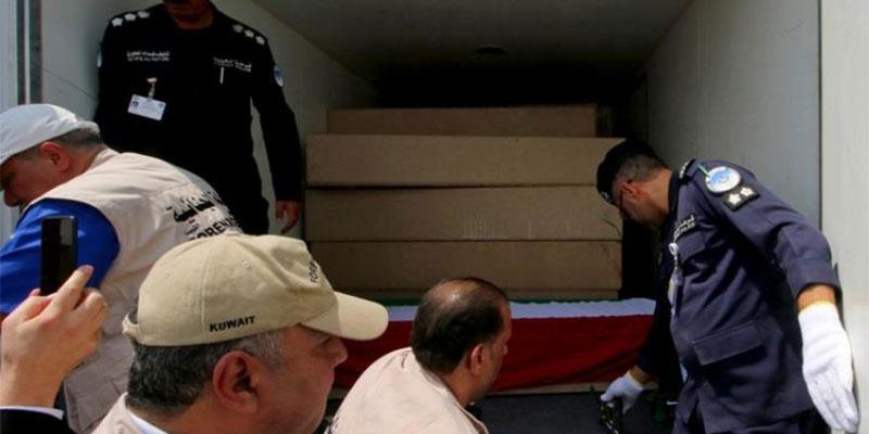 العراق يسلم الكويت رفات مفقودين في حرب الخليج