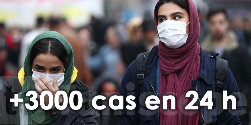 3 000 nouveaux cas en Iran en 24 heures
