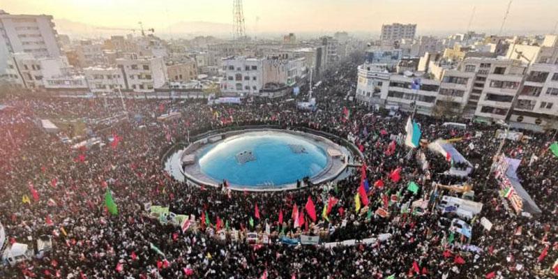 Marée humaine à Téhéran pour rendre hommage à Soleimani