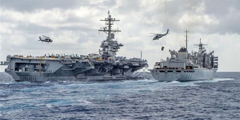 مسؤول عسكري إيراني: قواتنا قادرة على إغراق السفن الأمريكية ''بأسلحة سرية ''