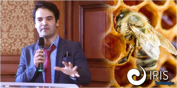 Khaled Bouchoucha intègre la technologie dans la gestion des ruches d'abeilles