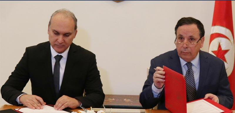 التوقيع على مذكرة تفاهم بين وزارة الشؤون الخارجية وهيئة الانتخابات