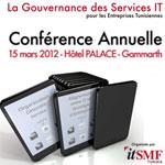 La Gouvernance des Services IT sujet de la Conférence de l'itSMF du 15 Mars 2012