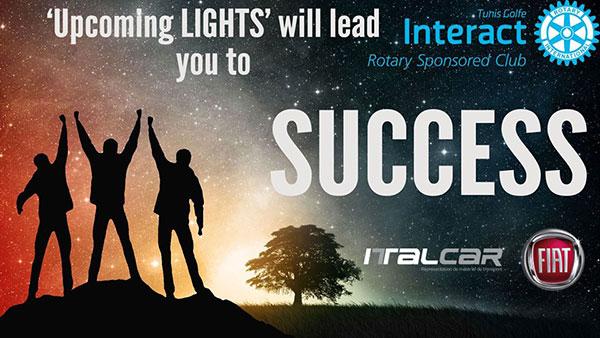 ITALCAR SA sponsor officiel de l'évènement Upcoming Lights