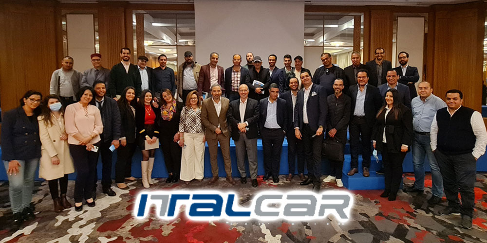 10e convention réseau Italcar à Hammamet