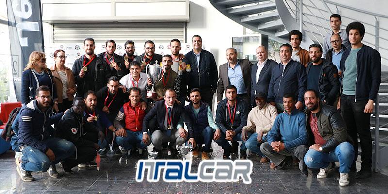 En vidéo : L'équipe Italcar remporte la coupe Tunisia Business Cup