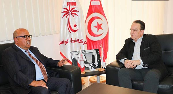 أحمد عياض الودرني يلتحق بنداء تونس مكلفا بالاستراتيجيات الحزبية