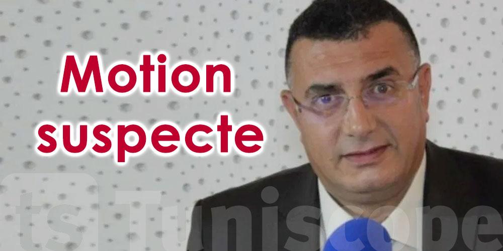 Yadh Elloumi : la motion d'hier est suspecte