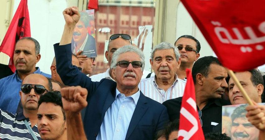 الجبهة الشعبية تدعو إلى العمل من أجل إسقاط الحكومة في أقرب وقت