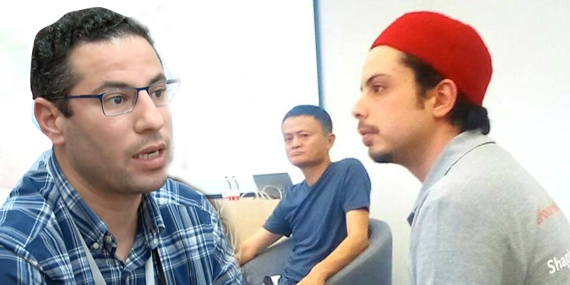 Deux tunisiens rencontrent Jack Ma lors du Alibaba Business School