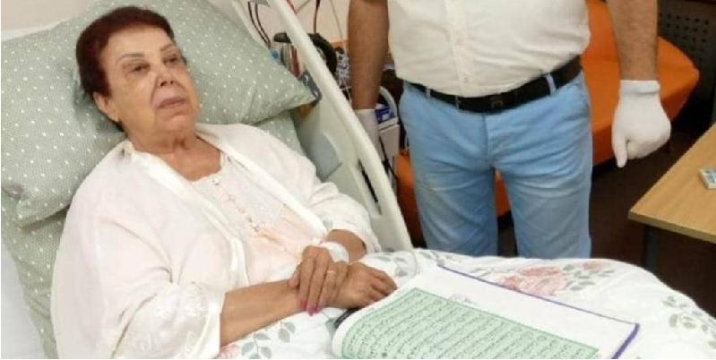 أول صورة لرجاء الجداوي داخل غرفة المستشفى بعد إصابتها بفيروس كورونا