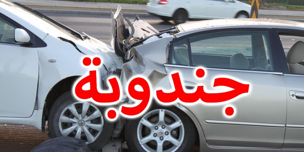 تصادم عنيف بين 3 سيّارات