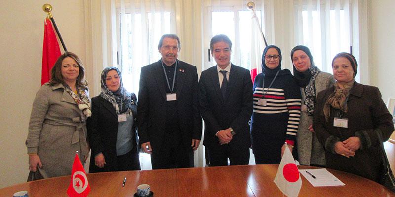Don Japonais pour l'Installation de l'Equipement de Dépistage du Cancer du Sein dans l'Institut Salah Azaïez