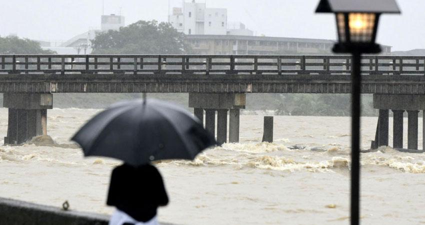 إجلاء ثلاثة ملايين شخص بسبب الأمطار الغزيرة في اليابان