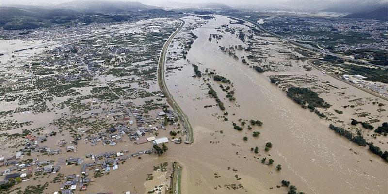 اليابان.. ارتفاع حصيلة ضحايا إعصار ''هاغيبيس '' إلى 18 قتيلا