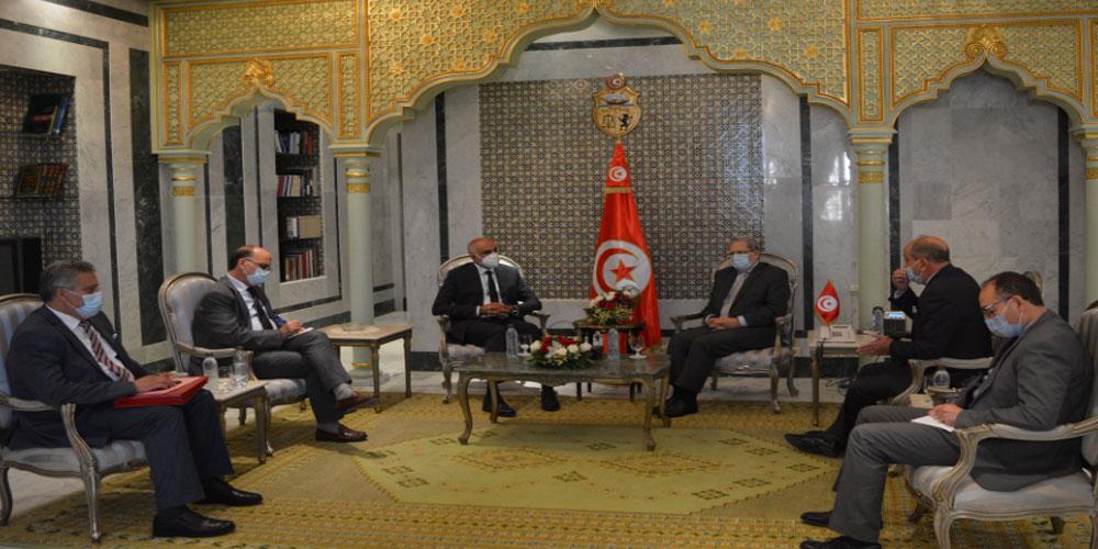 عثمان الجرندي يلتقي وكيل وزارة الخارجية الليبية التابعة لحكومة الوفاق