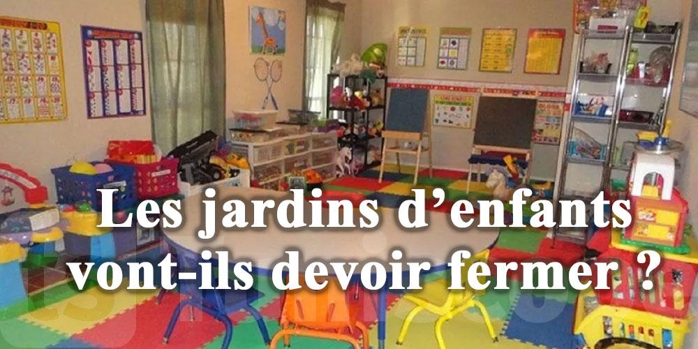 Les jardins d'enfants vont-ils devoir fermer ?