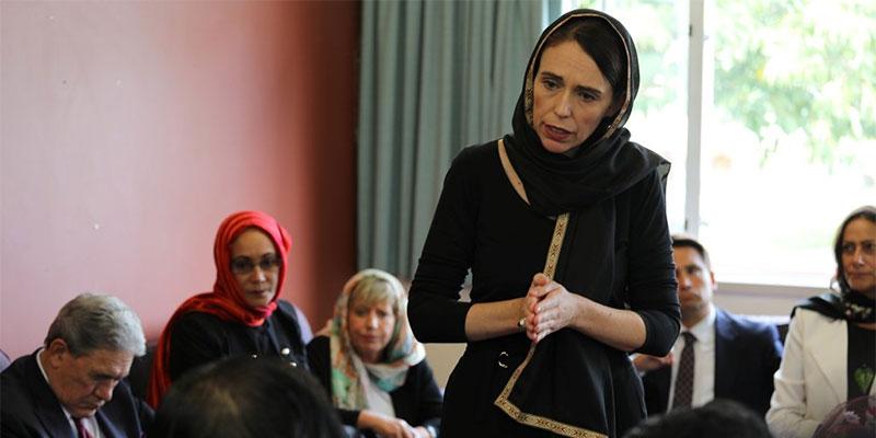 حركة النهضة تحيي رئيسة الوزراء النيوزيلاندية ''جاسيندا أردرن''