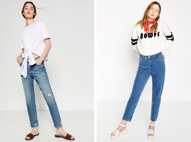 5 jeans mom à shopper dès maintenant ...