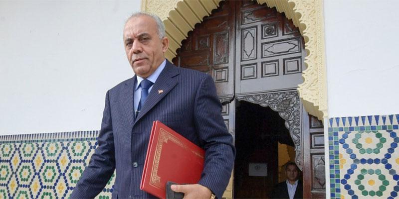الحبيب الجملي يصل البرلمان مرفوقا بحكومته