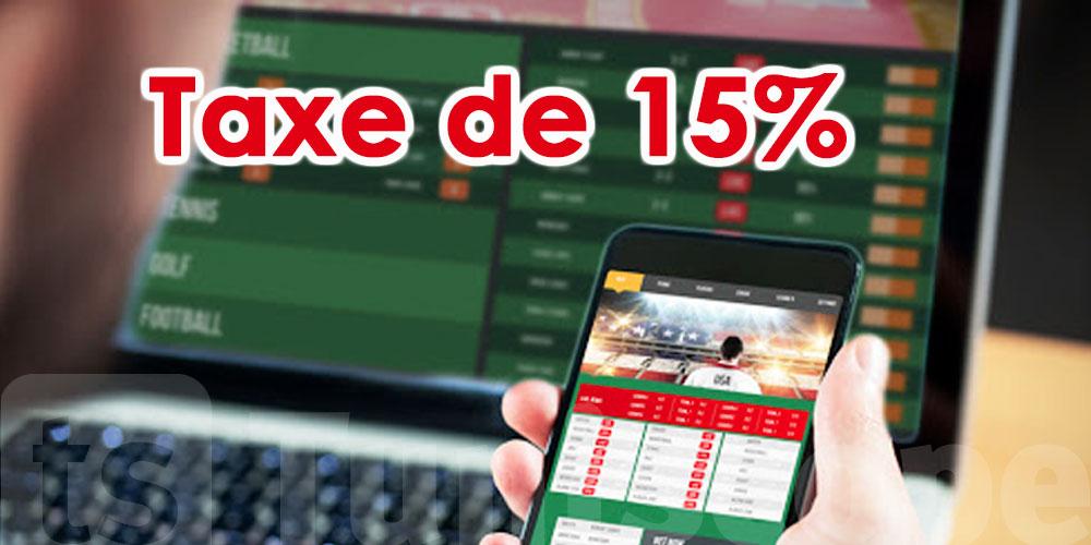Une taxe de 15% sur les jeux d'argents et les paris en ligne