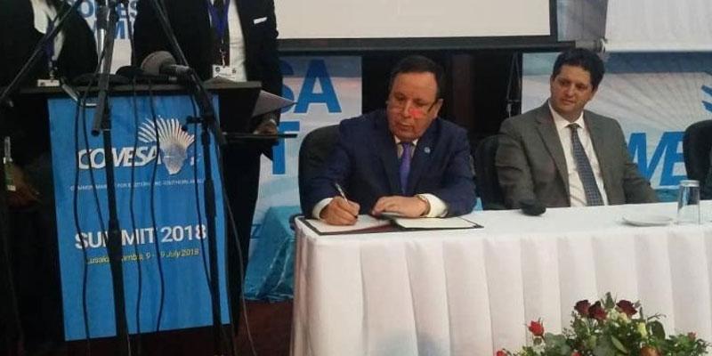 إنضمام تونس رسميا إلى السوق المشتركة للشرق والجنوب الإفريقي
