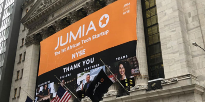 Jumia, fait son entrée à Wall Street