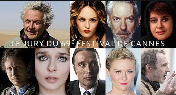 Voici le jury du 69ème Festival de Cannes
