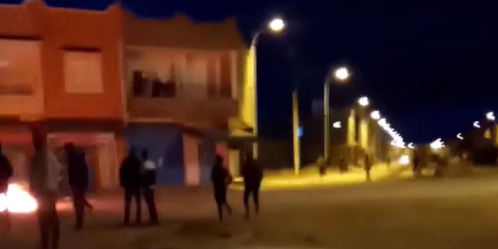 القيروان: مجهولون يحرقون العجلات المطاطية والأمن يوقف عددا منهم