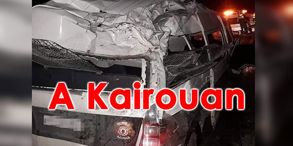 Quatre agents de la sécurité blessés dans le renversement de leur véhicule