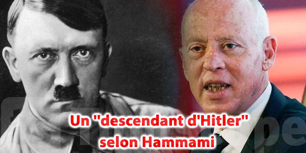Kais Saied, un ''descendant d'Hitler'' selon Hamma Hammami