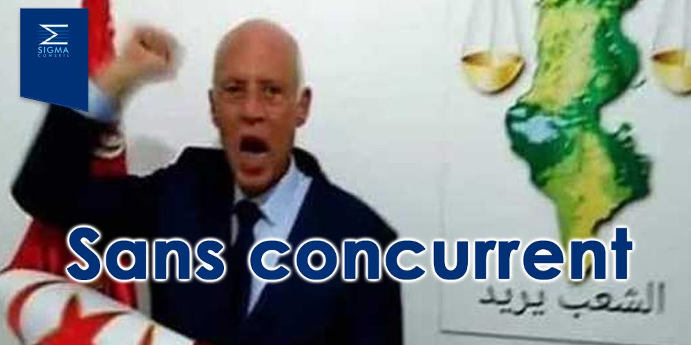 Kais Saied toujours sans concurrent….selon les intentions de vote
