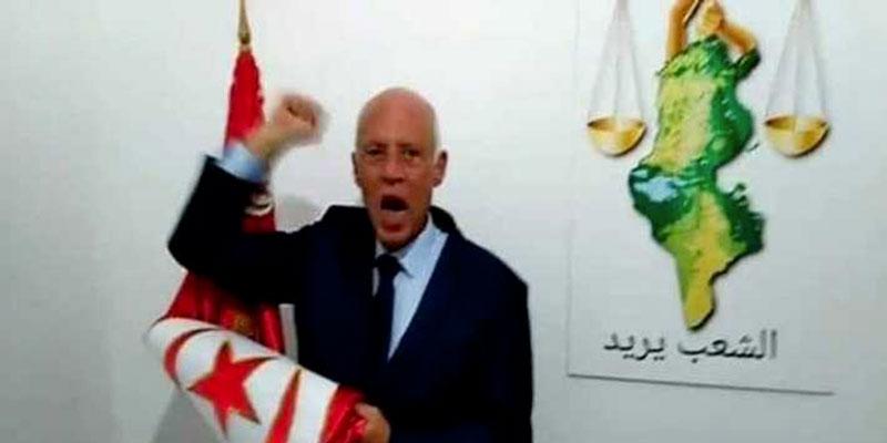 Elu président, la première destination de Saied sera l'Algérie