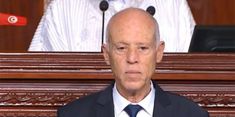قيس سعيد: ''الشعب التونسي أذهل العالم''