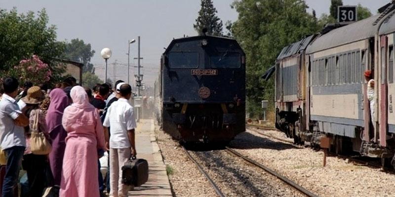 Manifestation contre la dégradation de la qualité du train à Kalâa Kebira