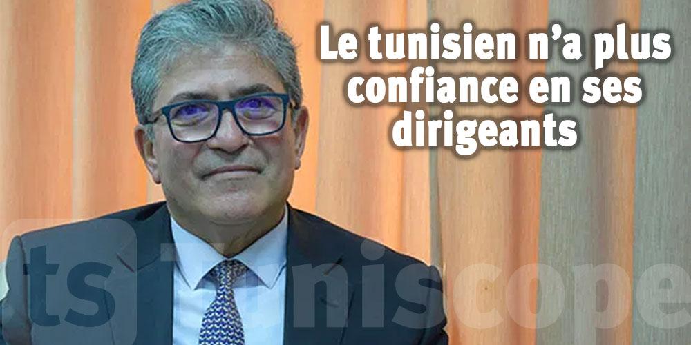 Le citoyen tunisien n'a plus confiance en ses dirigeants