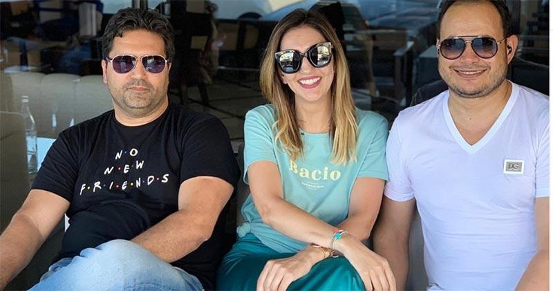 بالصورة، بولبيار و زوجته كاميليا ضيوف سمير الوافي في '' برنامج الرئيس ''