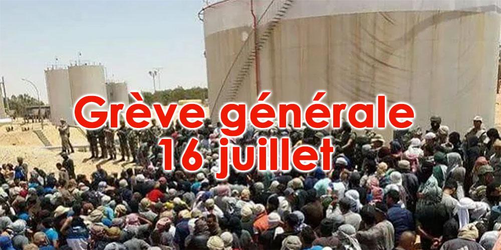 UTICA Tataouine appelle à la grève générale par solidarité au sit-in du Kamour